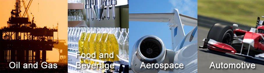 Oil and Gas | Food and Beverage | Aerospace | Automotive