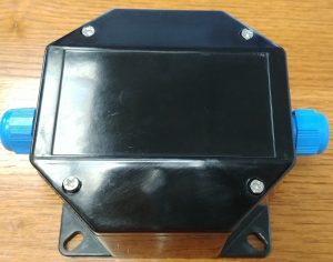 Fibreglass Box from underside